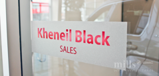 Mills Motors - Sales Rep - Kheneil Black