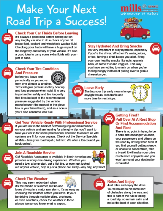 How To Make Your Next Road Trip A Success - Infographic